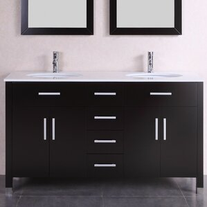 double vanity sink 60 inches. 60  Double Modern Bathroom Vanity Set Inch Vanities You ll Love Wayfair