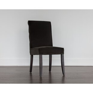 Baron Upholstered Dining Chair (Set of 2) Sunpan Modern