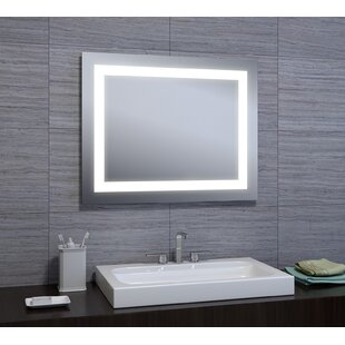 Inexpensive Attah LED Bathroom/Vanity Mirror By Orren Ellis