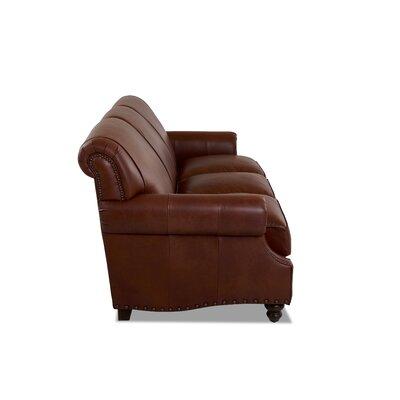 Wondrous Landry Leather Sofa Birch Lane Heritage Body Fabric Vintage Spiritservingveterans Wood Chair Design Ideas Spiritservingveteransorg