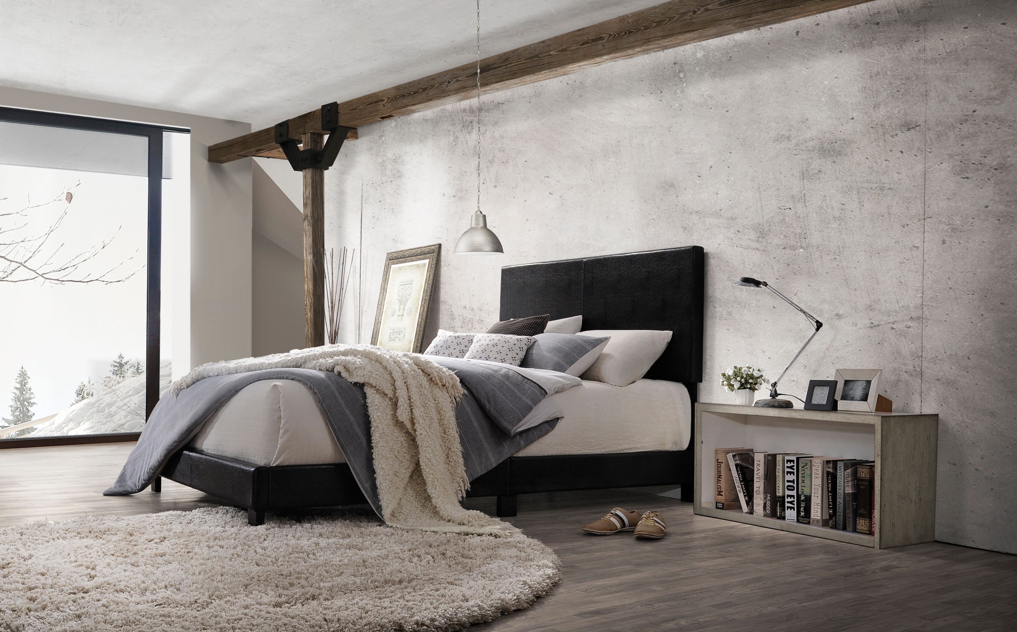 Wrought Studio Orey Upholstered Standard Bed Reviews Wayfair