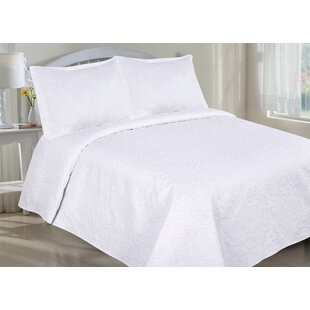 Jamain 2 Piece Reversible Quilt Set