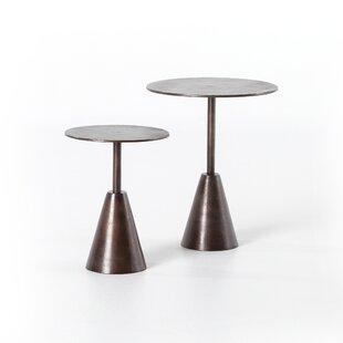 Bevis 2 Piece End Table Set