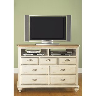 Reviews Bridgeview 7 Drawer Media Chest by Beachcrest Home