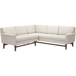Diggity 113 x 91 Corner Sectional Sofa by TrueModern