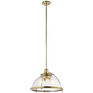 Brandice 3-Light Bowl Pendant