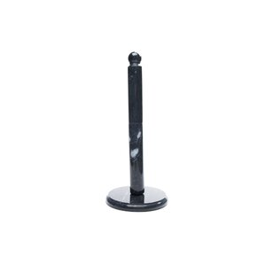 marble paper towel holder in black