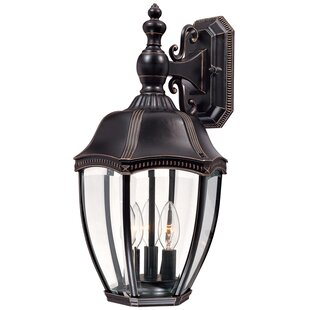 Price comparison Teri 3-Light Outdoor Wall Lantern By Bloomsbury Market