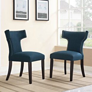 Curve Upholstered Dining Chair (Set of 2) Modway