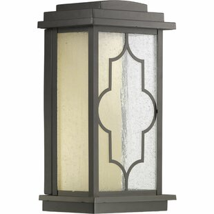 Bargain Swan LED Outdoor Wall Lantern By World Menagerie