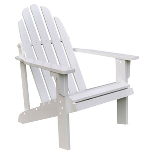 Best Diredra Solid Wood Adirondack Chair By Beachcrest Home Chairs