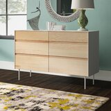 Clad 6 Drawer Double Dresser by Blu Dot
