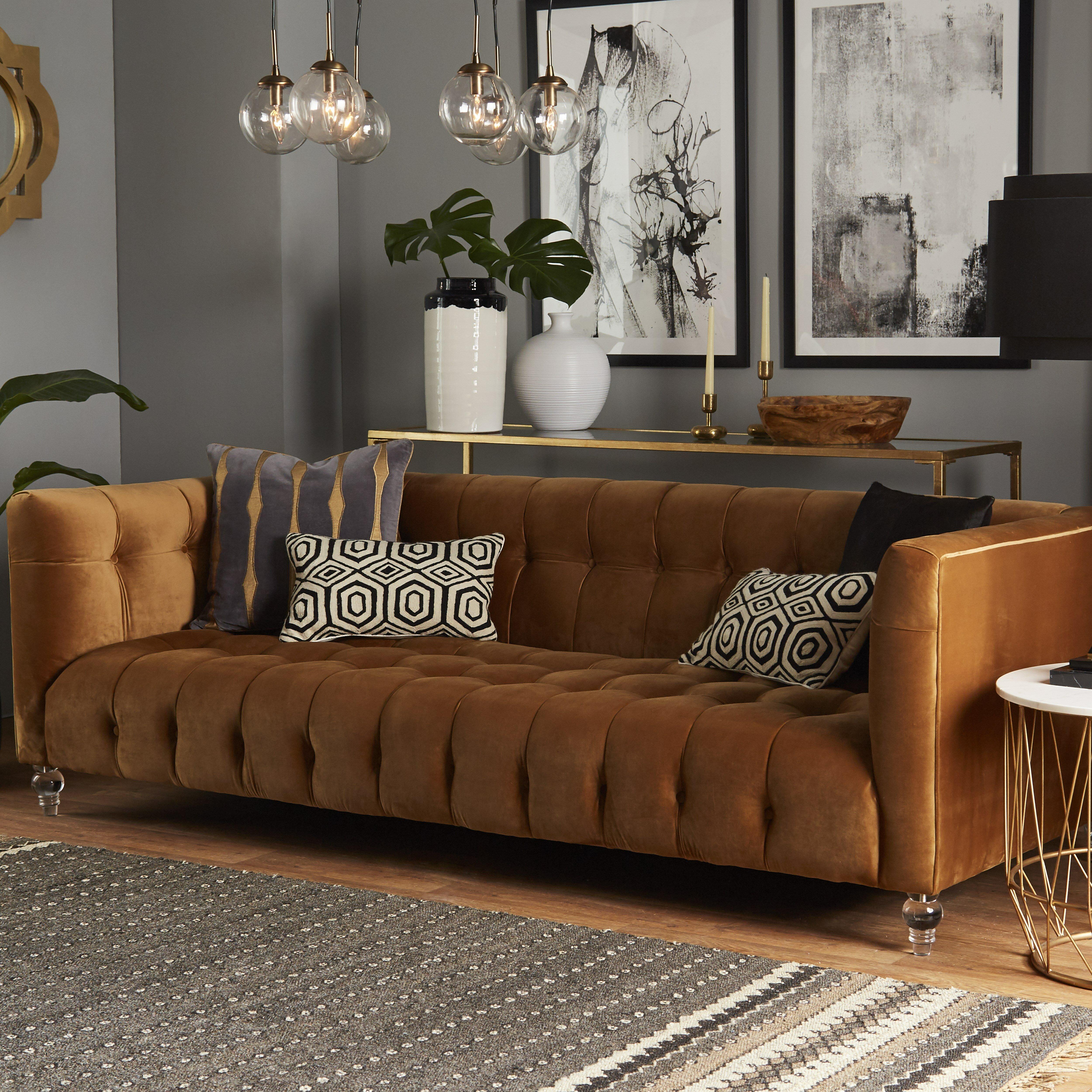 Willa Arlo Interiors Pernilla Velvet Chesterfield Sofa U0026 Reviews | Wayfair