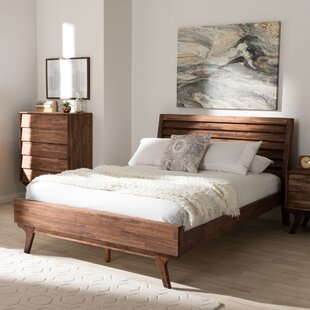 Tion Queen Platform Bed by Union Rustic