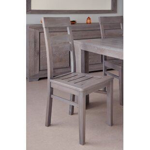 Titan Solid Wood Dining Chair (Set Of 2) by Parisot 2019 Online