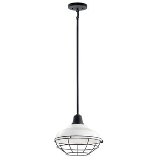 Scaggs 1-Light Outdoor Pendant