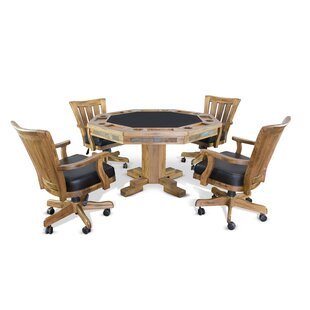 Fresno 5 Piece Dining Set Loon Peak