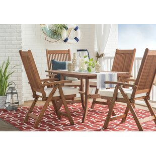 Albury Red/White Indoor/Outdoor Area Rug byThree Posts