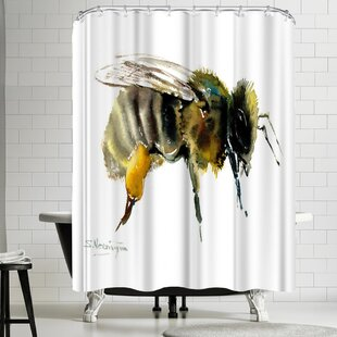 Suren Nersisyan Honey Bee Shower Curtain
