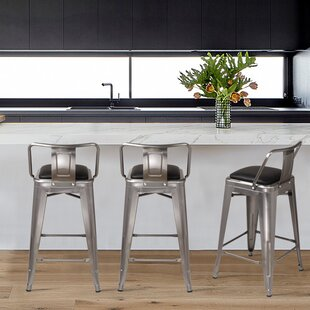 Price Check Mcpherson 24 Bar Stool by Williston Forge Reviews (2019) & Buyer's Guide