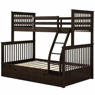 Bog Water Twin Over Full Bunk Bed with Drawers by Harriet Bee