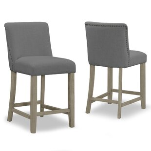 Gelsomina 24.9 Bar Stool (Set of 2) One Allium Way