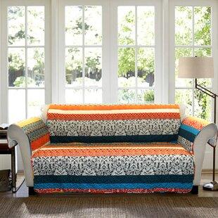 Bridgelands Box Cushion Sofa Slipcover by World Menagerie