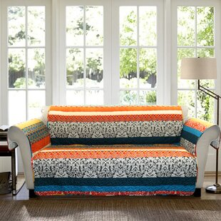 Read Reviews Bridgelands Box Cushion Sofa Slipcover by World Menagerie Reviews (2019) & Buyer's Guide