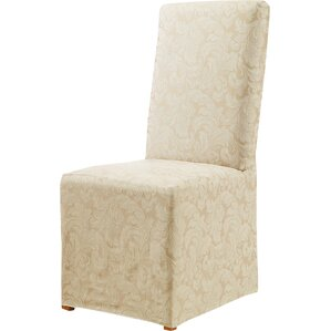 Scroll Classic Dining Chair Skirted Slipcover by Sure Fit
