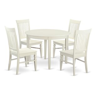 Hillhouse 5 Piece Dining Set by Red Barrel Studio #2t