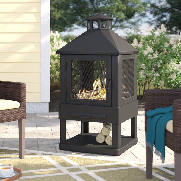 New Terrace Accents Log Wood Rack Fireplace Fireplace Log Baskets