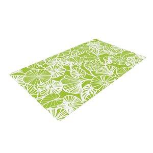 Jacqueline Milton Vine Shadow Floral Green/Lime Area Rug