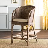 Lael 30 Bar Stool by Beachcrest Home