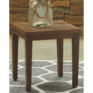 Geri Wicker Side Table