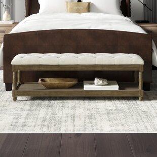 Check Prices Brodnax Upholstered Bench ByGreyleigh