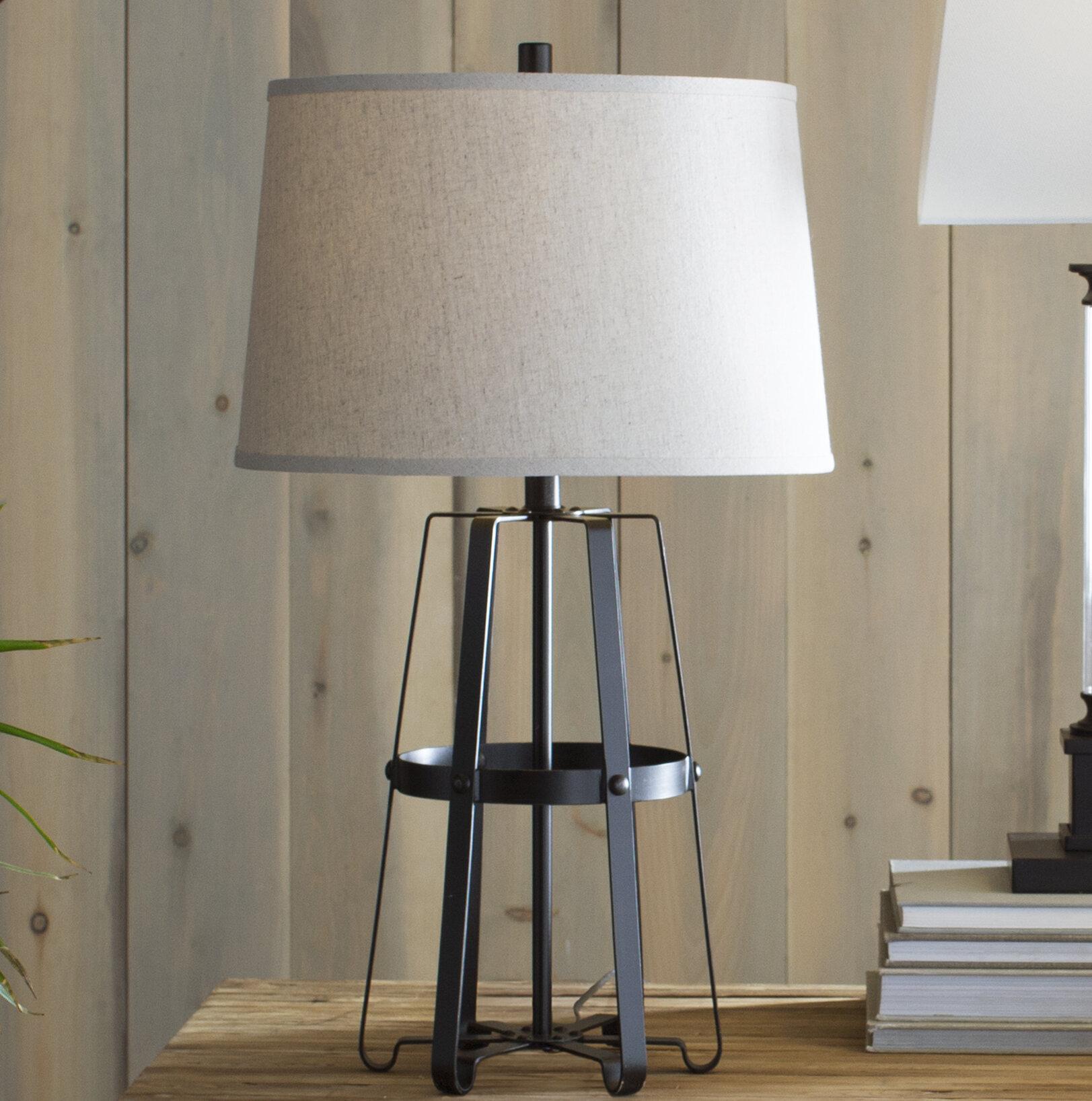 Rustic Table Lamps You Ll Love In 2021 Wayfair