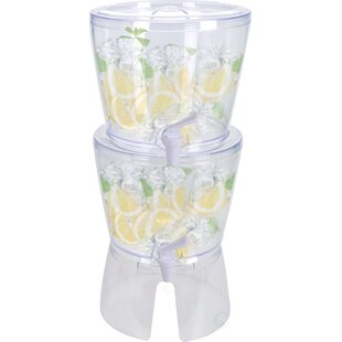 Stackable 179.2 oz Beverage Dispenser (Set of 2)