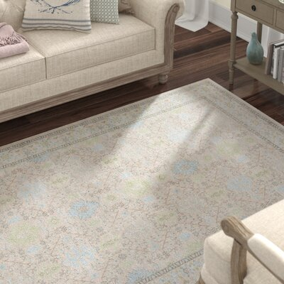 Lark Manor Riviere Grey/Green Area Rug