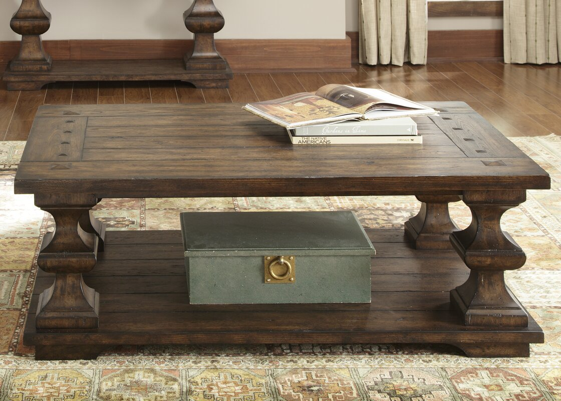Farmhouse rustic coffee tables birch lane geotapseo Gallery