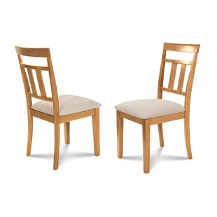Dahle Soft Padded Dining Side Chair (Set of 2)
