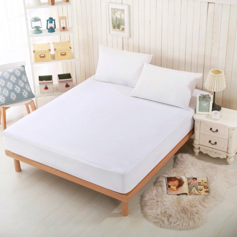 mattress protector. sleep jersey hypoallergenic waterproof mattress protector
