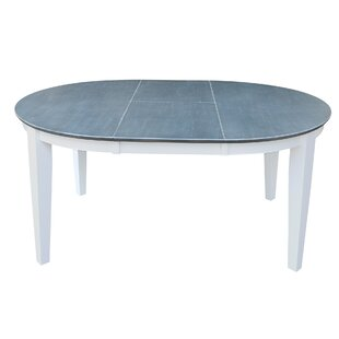 48 - 66 x 48 Round to Oval Extension Dining Table