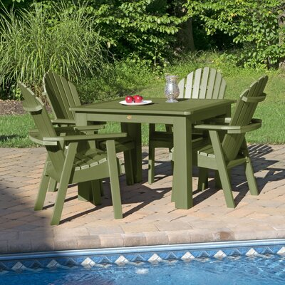Magaw 5 Piece Dining Set by Longshore Tides #1