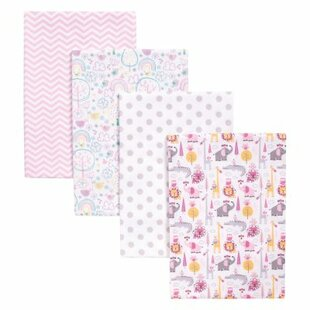 Compare prices Tobey 4 Piece Receiving Blanket Set ByHarriet Bee