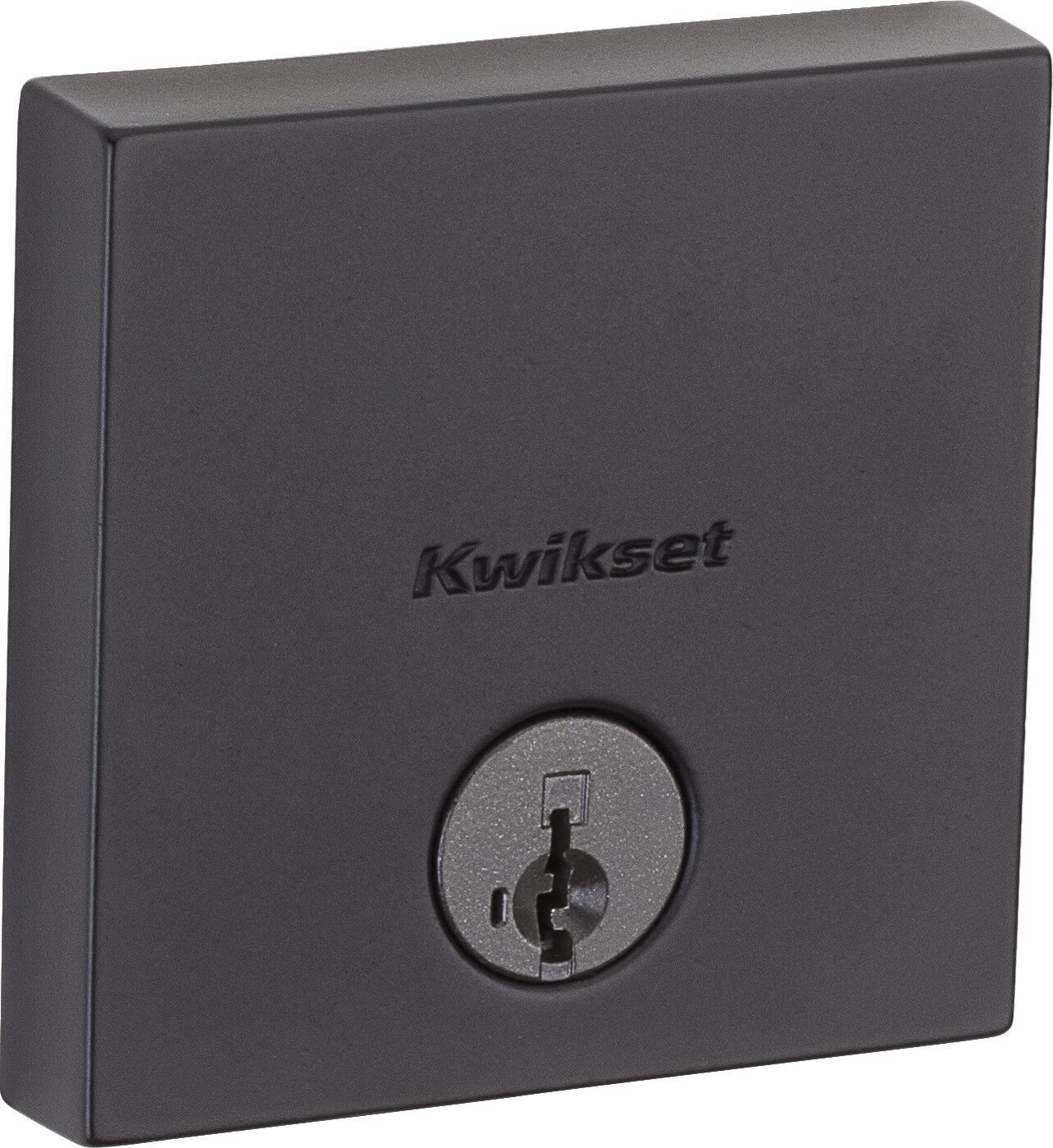 Kwikset Downtown Single Cylinder Deadbolt Featuring Smartkey With Square Rosette Reviews Wayfair