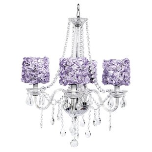 Purple shade chandeliers youll love middleton 4 light crystal chandelier mozeypictures Gallery