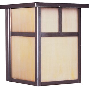 Best Boricco 1-Light Outdoor Flush Mount By Loon Peak