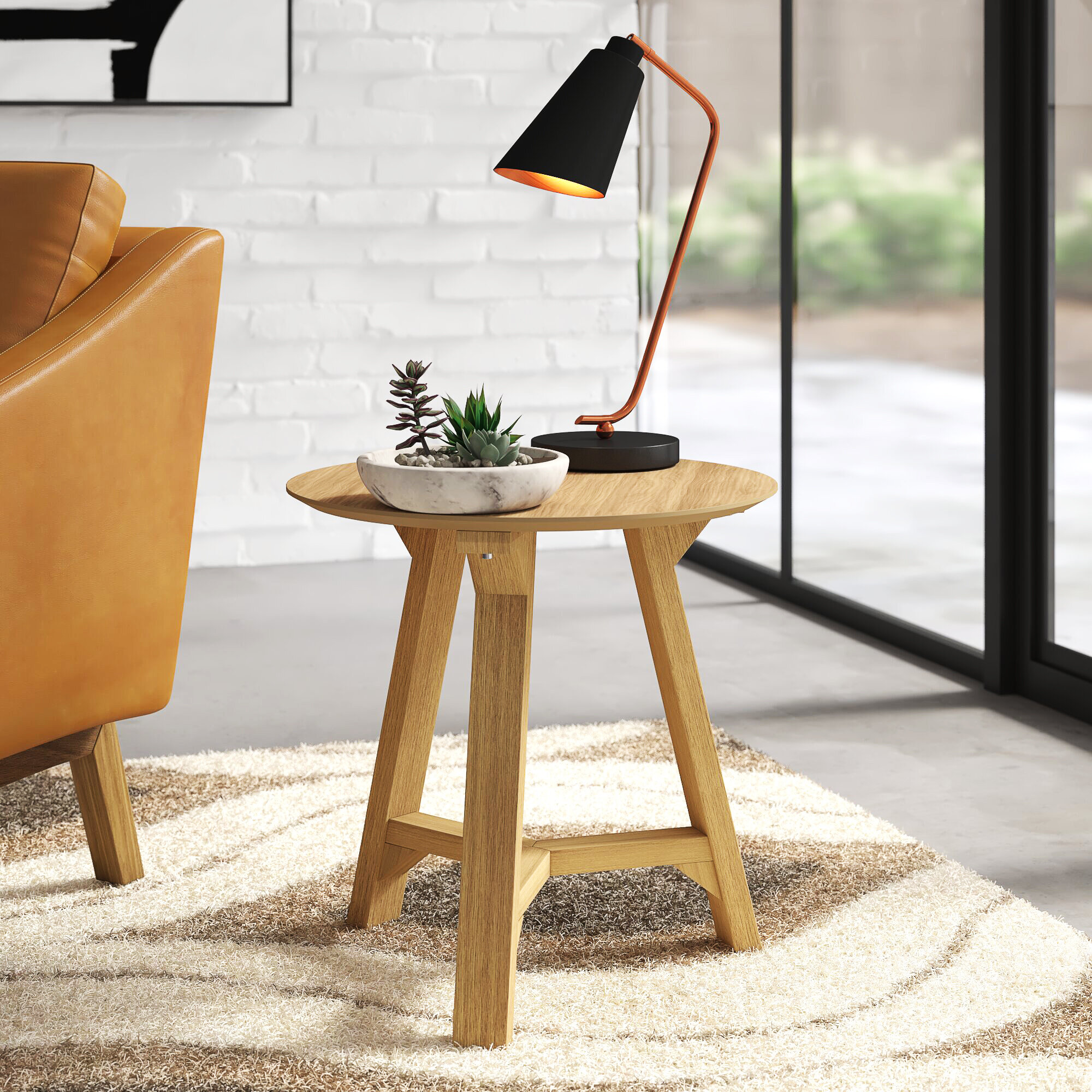Allmodern Colford 3 Legs End Table Reviews Wayfair