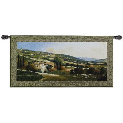 Fine Art Tapestries Cityscape, Landscape, Seascape My Villa in Tuscany Tapestry
