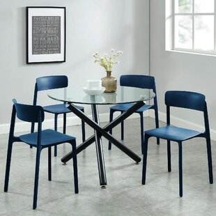 Darleen Contemporary 5 Piece Dining Set